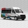 Реклама на маршрутках для Белорусский туроператор «АЭРОБЕЛСЕРВИС»