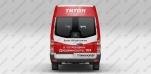 Реклама на маршрутках для ТРЦ «Титан»